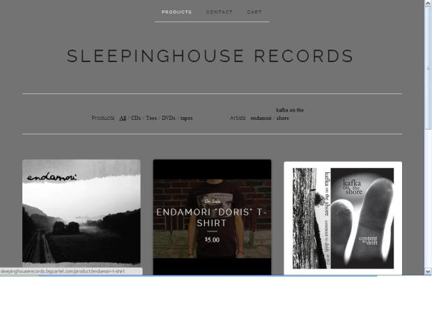sleepinghouse records store2